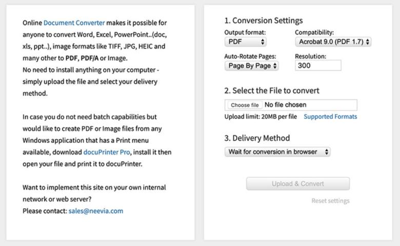 pdf convert file