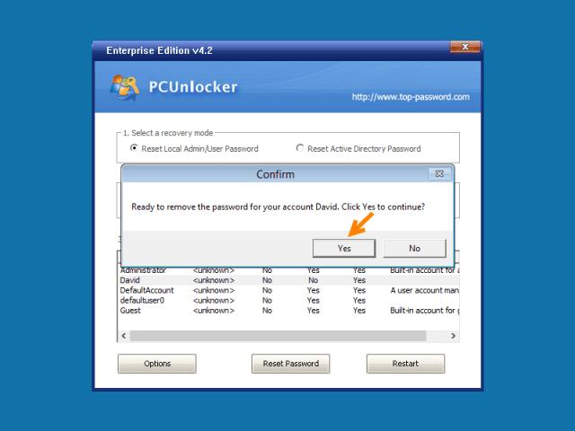 tools untuk recover password windows