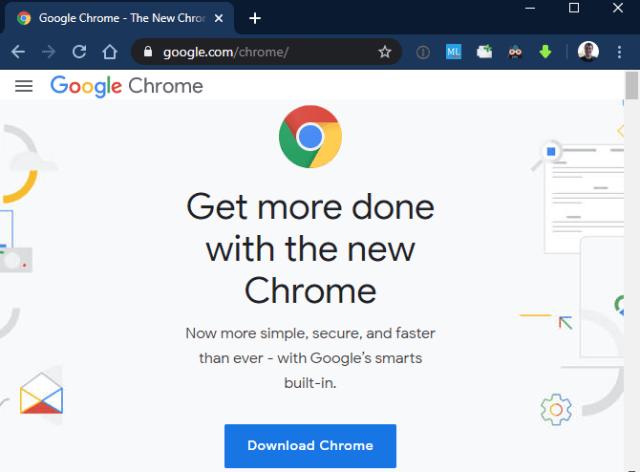 kompute baru download chrome aplikasi windows