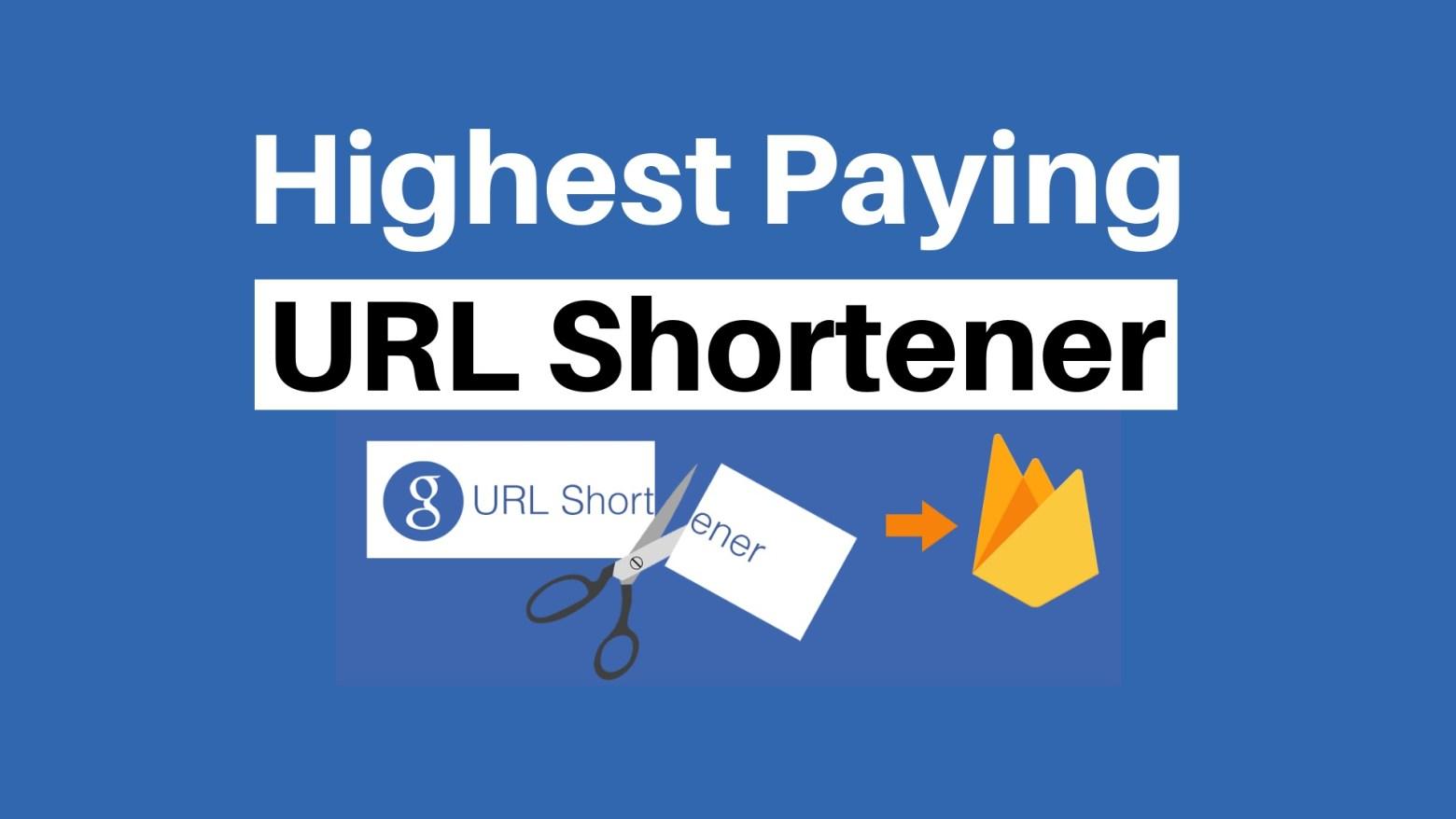 Buat Duit Dengan URL Shortener Yang beri Bayaran Tertinggi