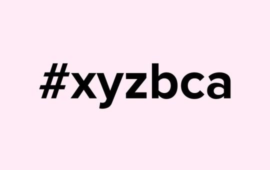 guna hashtag #xyzbca dalam tiktok