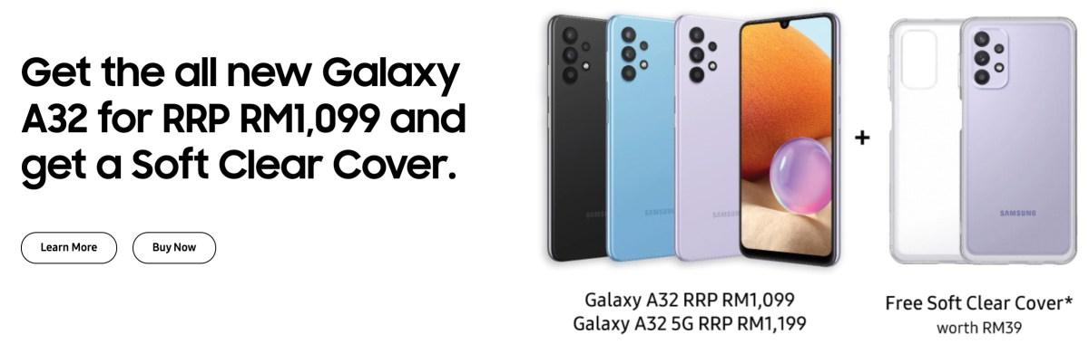 Harga Galaxy A32 Malaysia