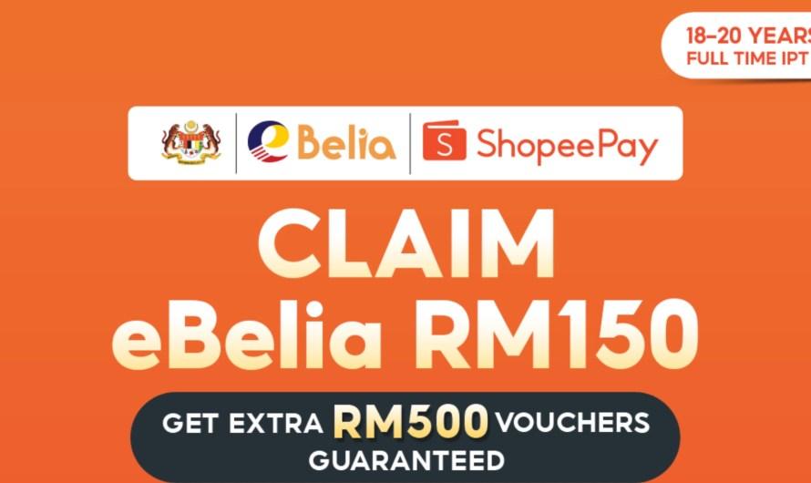 Cara Nak Claim eBelia 2021 Dengan Shopee