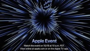 apple event 18 october 2021