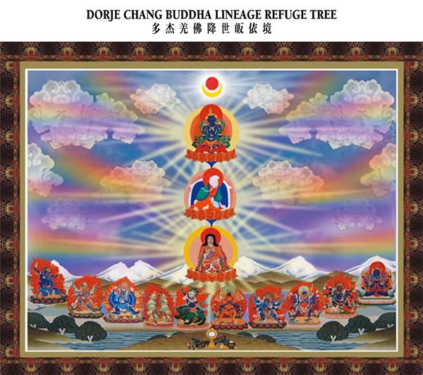 macang.info DORJE CHANG BUDDHA LINEAGE REFUGE TREE 多杰羌佛降世皈依境