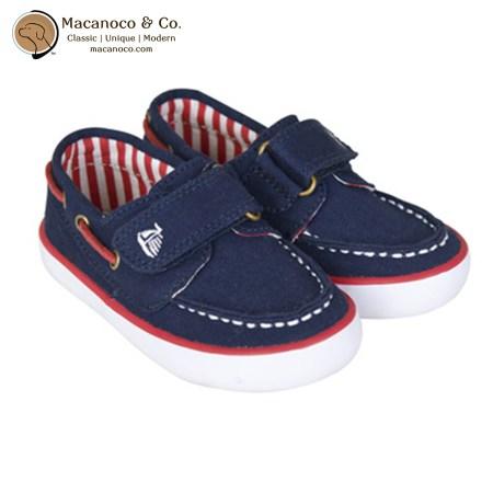 D2963 Canvas Sailor Shoe Navy 1