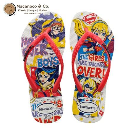 4140086-0001 Kids DC Super Hero Girls White 1