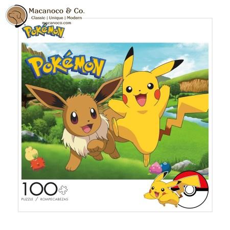 04803 Buffalo Games Pokemon Pikachu & Eevee Spring 1