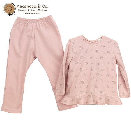 72177 Paraguas Volante Shirt and Pant Pajama Set Make-Up 1