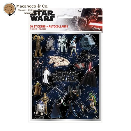 79288 Star Wars 4-Sheets Stickers 1