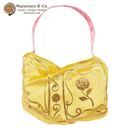 53034 Jakks Disney Princess Velvet Heart Strong Dress-Up Purse (Yellow Belle) 1