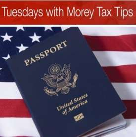 EP007:  Hire a Tax Professional to Make You Compliant with the US tax code on Tuesdays with Morey