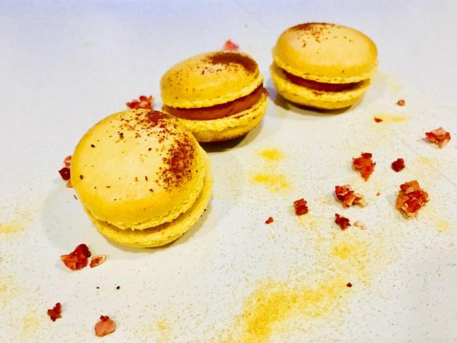 Passion fruit macarons