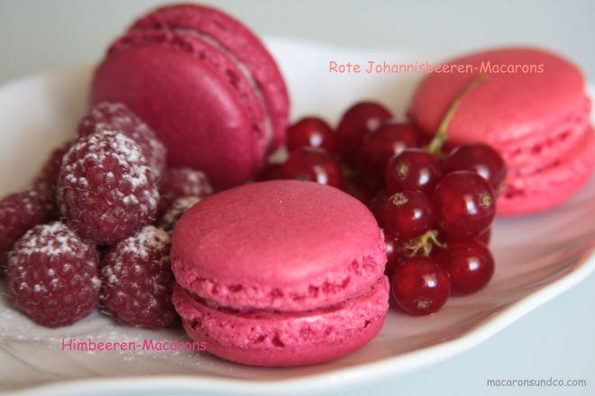 Macarons framboise et groseille IMG_0036