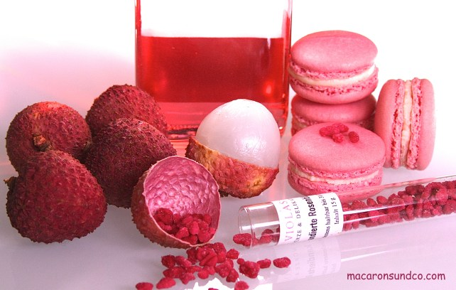 Macarons LitchiRose IMG_2313