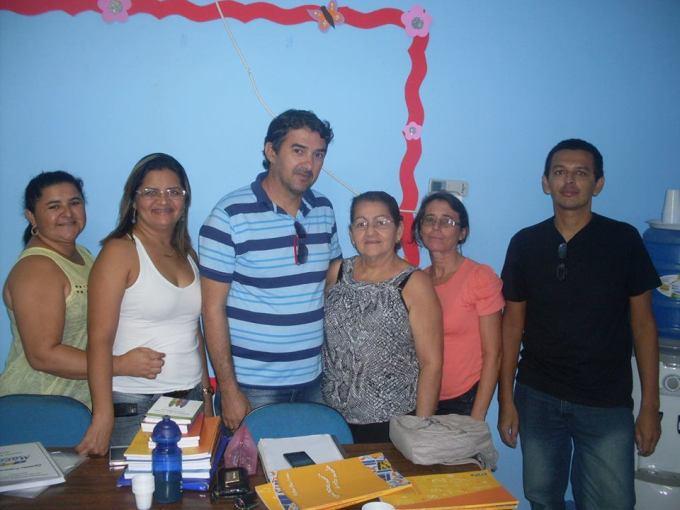ROBERTA, ELIANE PEREIRA, ANTONIO MARCOS, MARIA JOSÉ, LAURIEDA E JOÃO MARIA.
