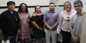 Em audiência com o MP e o Conselho de Saúde, Lucianny Guerra apresenta avanços e fala das dificuldades da pasta