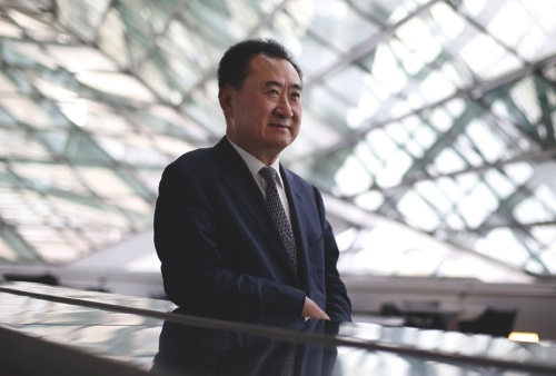 Billionaire Wang Jianlin, chairman and president of Dalian Wanda Group