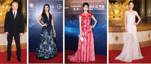 From left to right: Michael Mann, Rino Nakasone-Razalan, Kristy Yang Gong Ru and Huang Sheng Yi