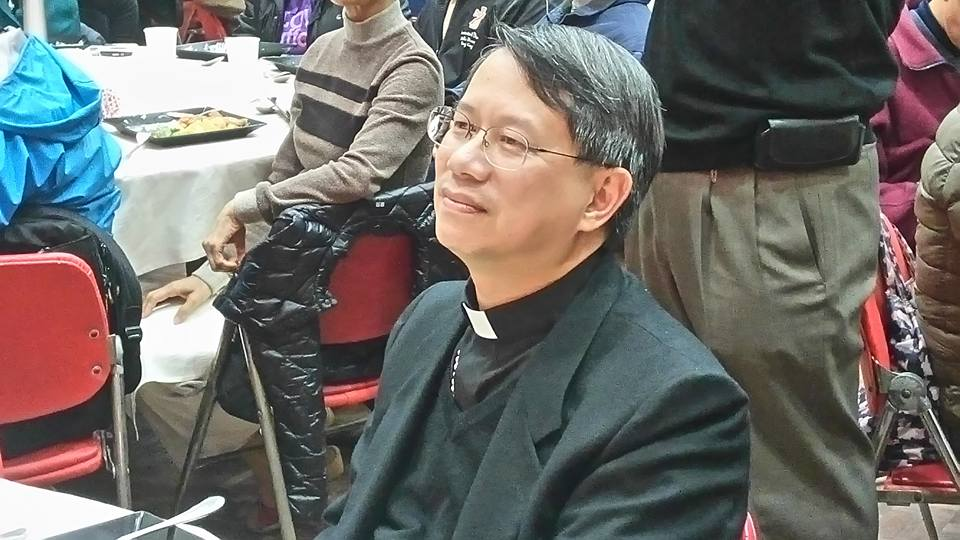 Bishop Stephen Lee Bun-sang, 59, was the auxiliary bishop of Hong Kong (Photo courtesy Kung Kao Po, HK)