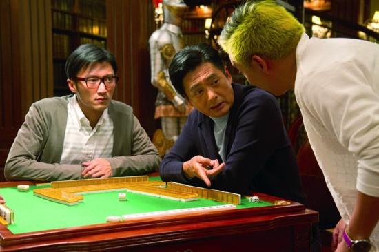 Chow Yun Fat (center) in From Vegas To Macau