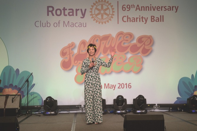Speech by Ms. Elizabete Fong, President 2015/16 of Rotary Club of Macau