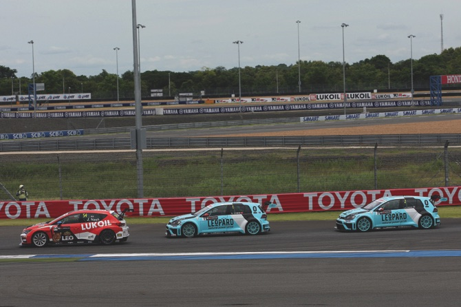 TCR International Series, Buriram, Thailand 27 - 28 August 2016