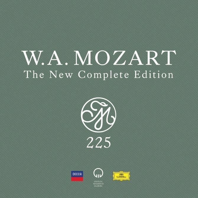"""Mozart 225: The New Complete Edition"" (Decca and Deutsche Grammophon)"