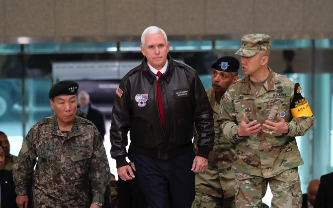 Pence, headed to Japan, turns focus to trade with key ally