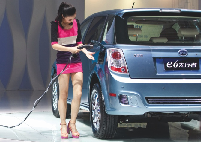 Image result for electric batteries for cars china manufacturing on global warming