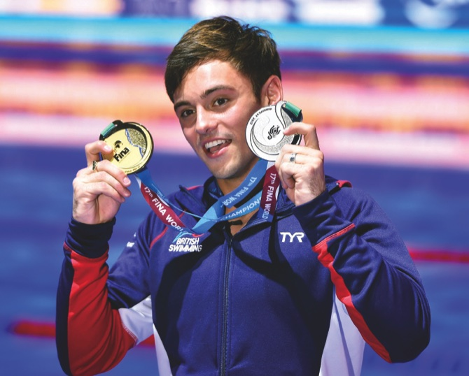 Tom Terrific! Britain's Daley beats Chinese off big tower
