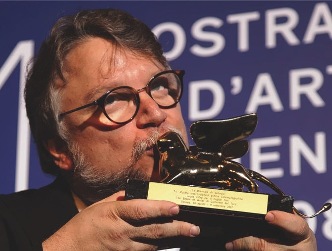 'The Shape of Water' by Mexico's Del Toro wins Venice Golden Lion