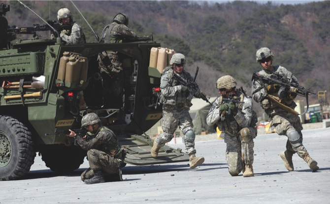 US, S. Korea begin joint Naval drills