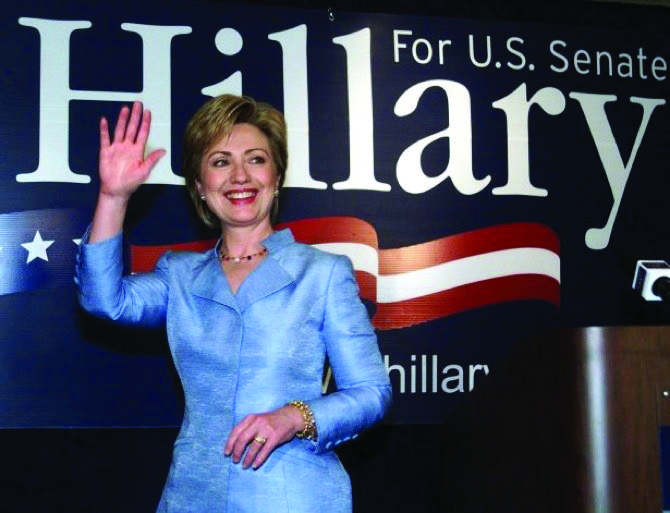 this day in history 2000 hillary clinton is first first lady in