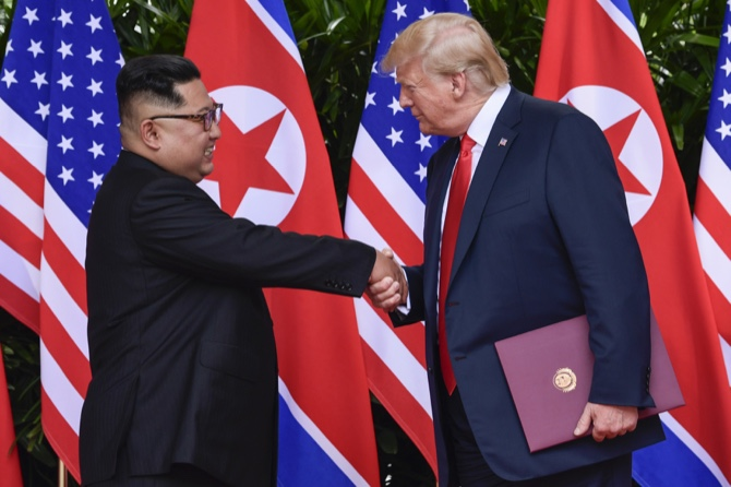 Kim Declares His 'Faith' in Trump, Who Offers an Enthusiastic Thanks