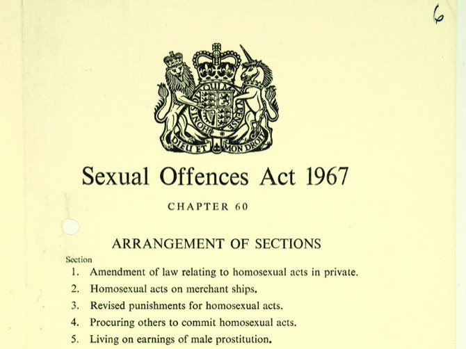 Wolfenden report on homosexual offences and prostitution 1957