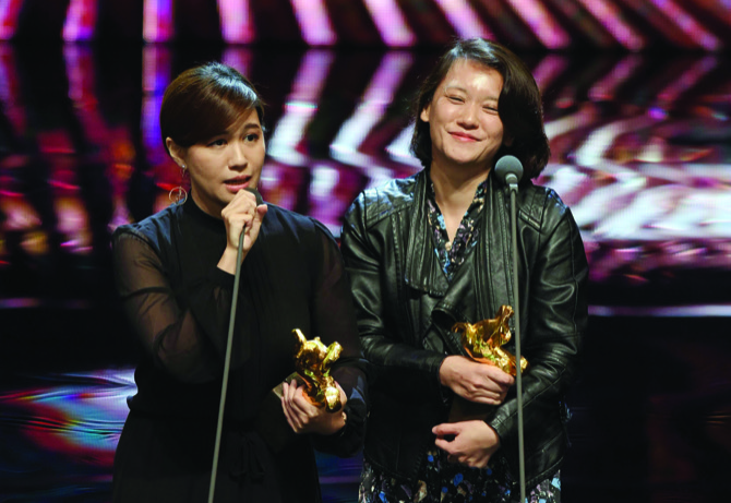 Lights, camera, factions: Stars at Chinese-language 'Oscars' split over Taiwan