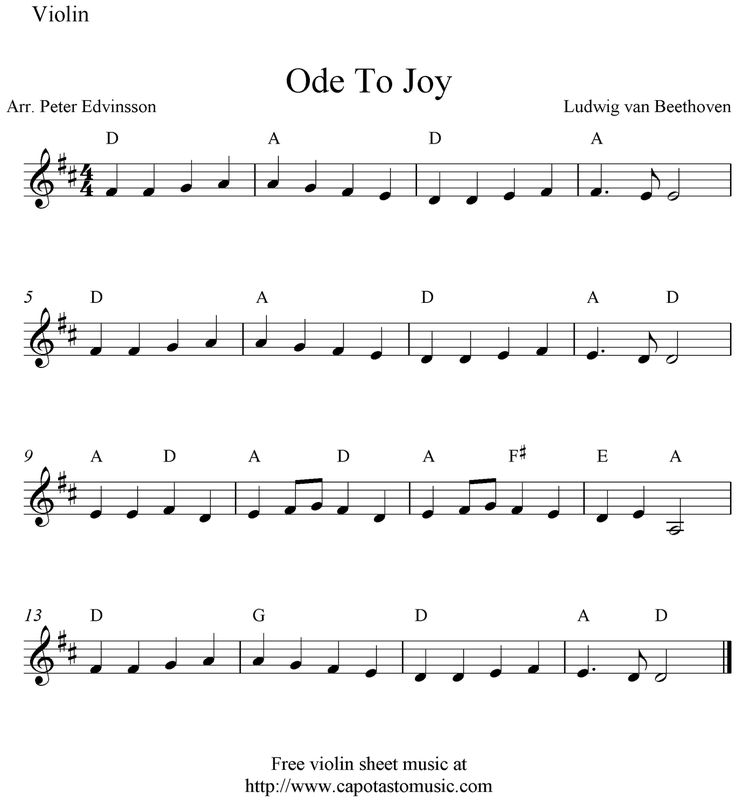What's so special about the Ode to Joy? – Seminar 1: Arts in New ...