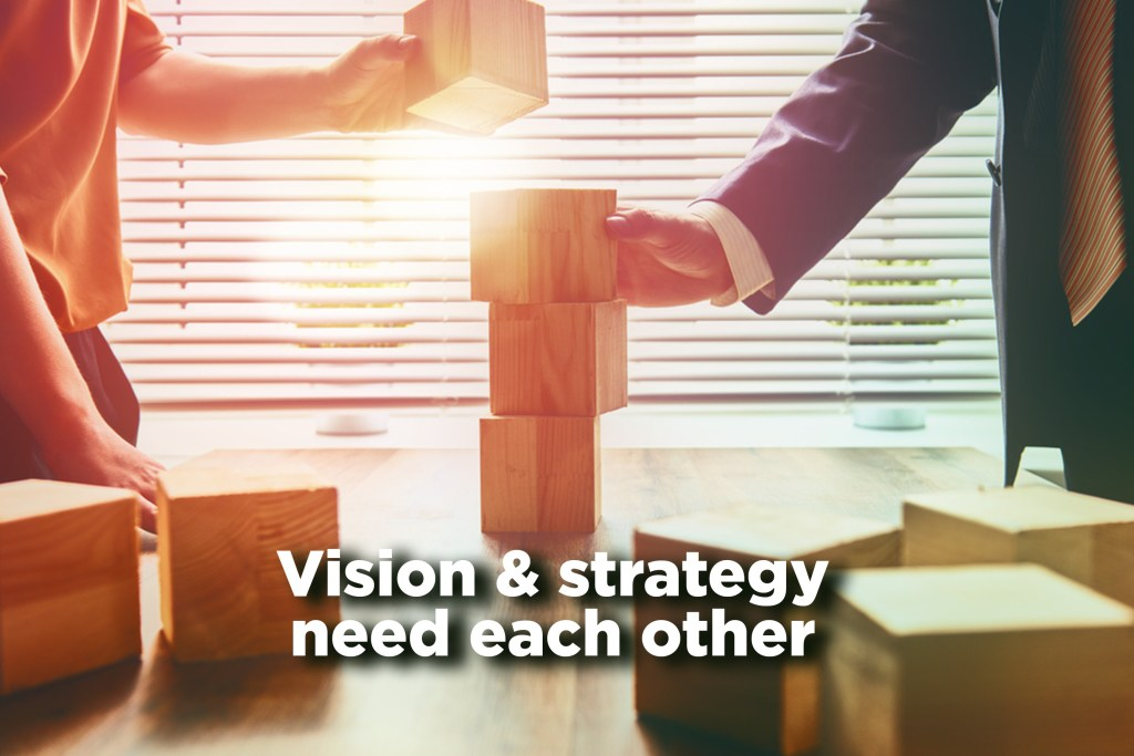 Vision Strategy Need Each Other