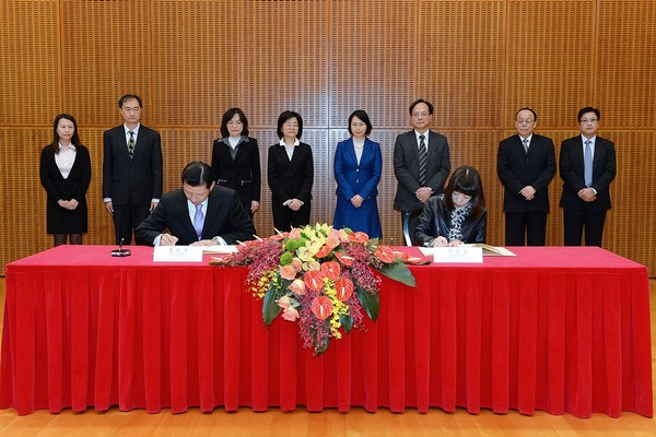 Macau and Taiwan sign airline double taxation deal