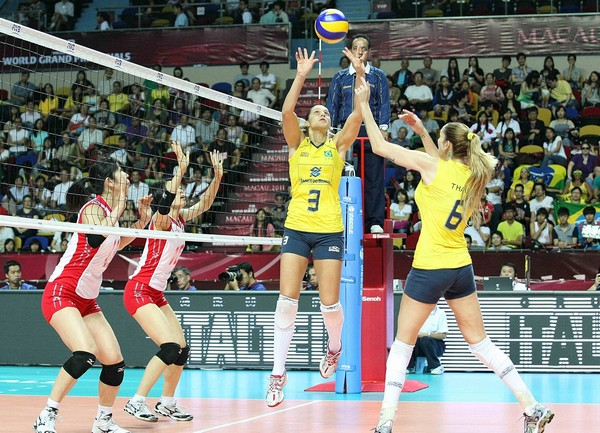 Brazil, USA secure semifinal berths at FIVB WGP final round