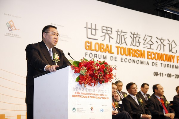 Chui hopes for co-operation through global tourism forum