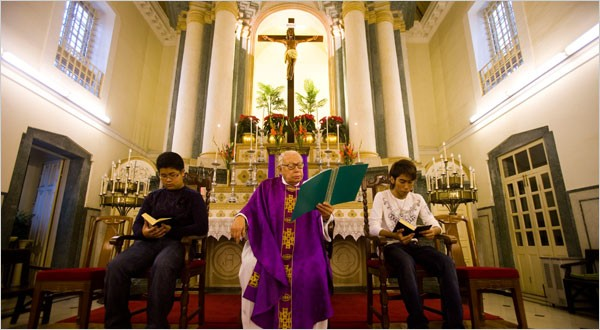 Fr. Lancelote passes away, aged 89