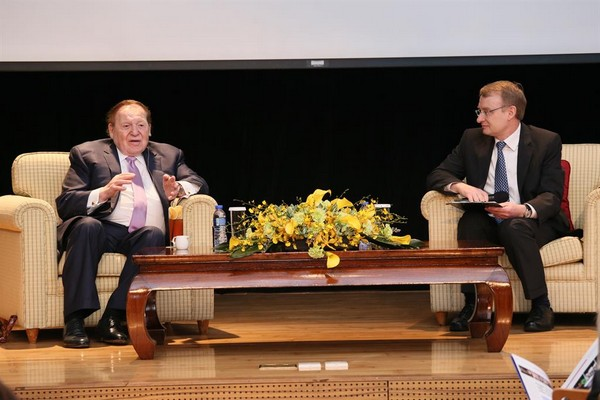 Adelson says high-rollers 'lying low' to stay off radar