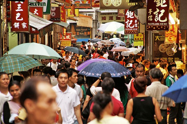 Macau population reaches 636,000 people at the end of 2014