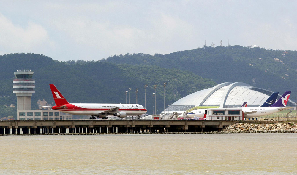 Macau airport numbers fall in January