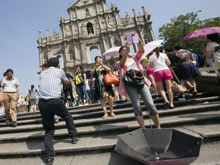 Macau'svisitorarrivalsdrop 3 per centin April