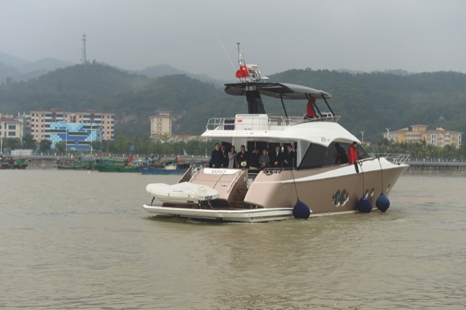 Zhongshan-Macau Yatch Scheme officially inaugurated