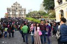 Macau visitor arrivals