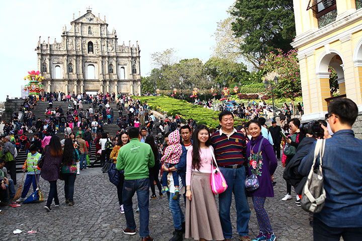 Macau's visitors rise 17.6 percent to 2.8 million in January